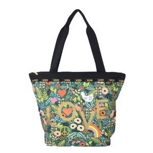 LeSportsac x Rifle Paper Hailey Tote Bag.
